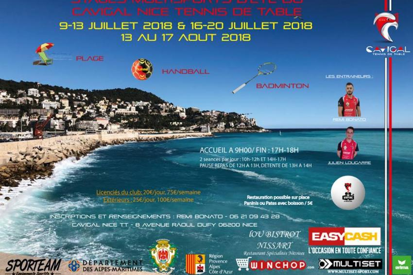 Stages Multisport Eté 2018